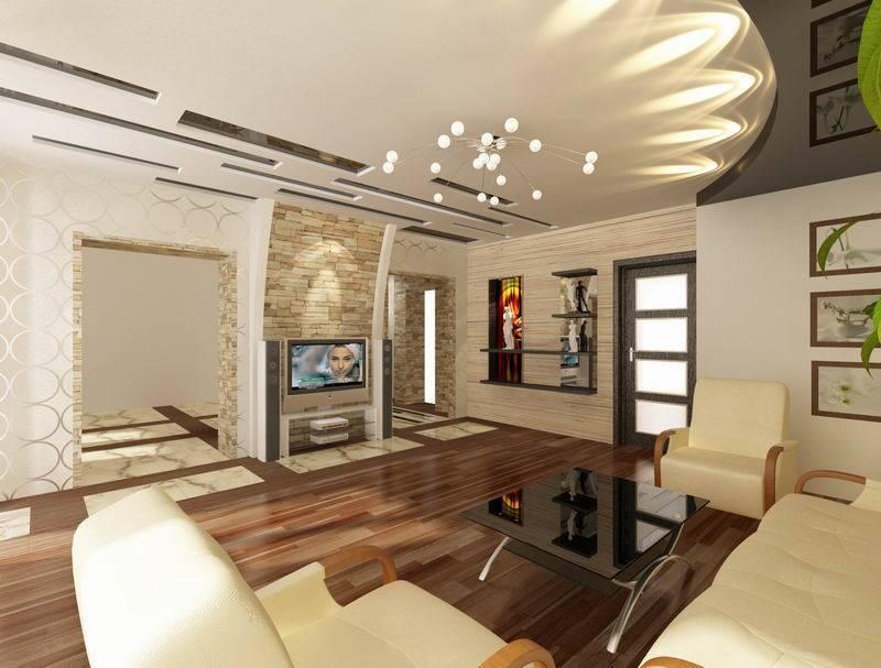 Натяжные потолки для зала, какие выбрать