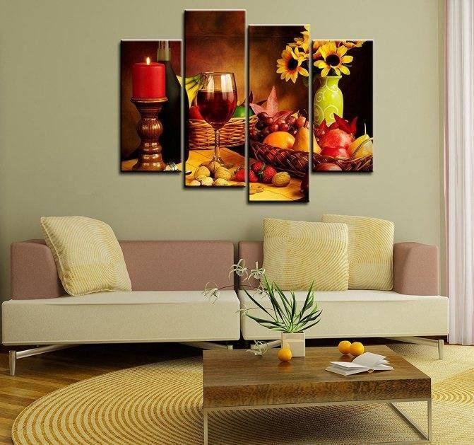 Как стильно украсить стены своего дома художественными произведениями искусства