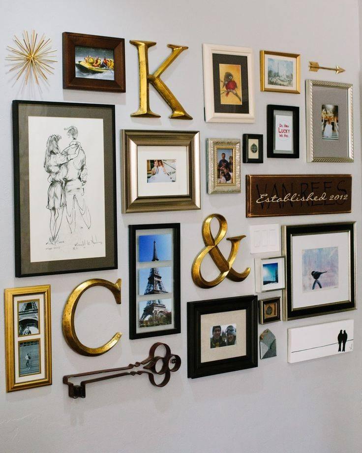 Крутые идеи оформления стен фотографиями