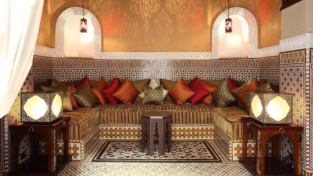 Арабский стиль в интерьере дома или квартиры, описание с фото