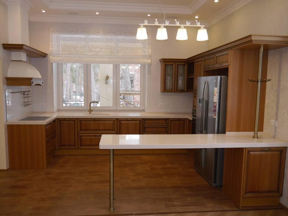 П-образная кухня (68 фото): проекты дизайна маленьких кухонь, оформление их в современном стиле. выбор кухонного гарнитура для помещения такой формы