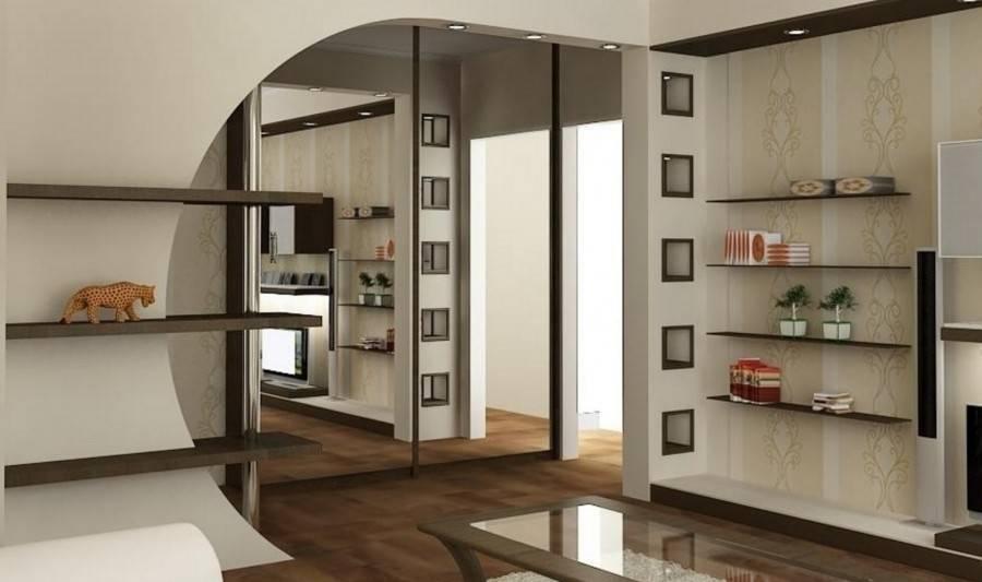 Межкомнатная перегородка для зонирования комнаты из гипсокартона: особенности конструкции, плюсы и минусы, инструкция как сделать самому