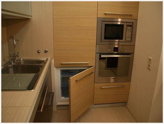 Встраиваемая кухня: 150+ (фото) интерьеры со встроенной техникой