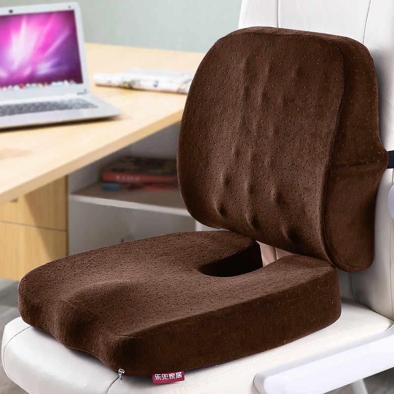 Как выбрать ортопедическую подушку для сидения?