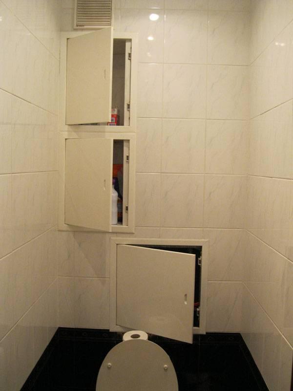 Люк для ванной под плитку: размеры, установка ревизионного люка под плитку в ванной комнате