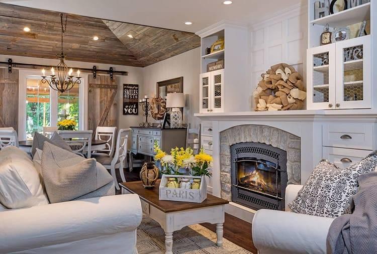Стиль кантри (116 фото): дизайн интерьера комнаты в деревенском стиле, оформление в стиле прованс и английском кантри, другие виды стиля