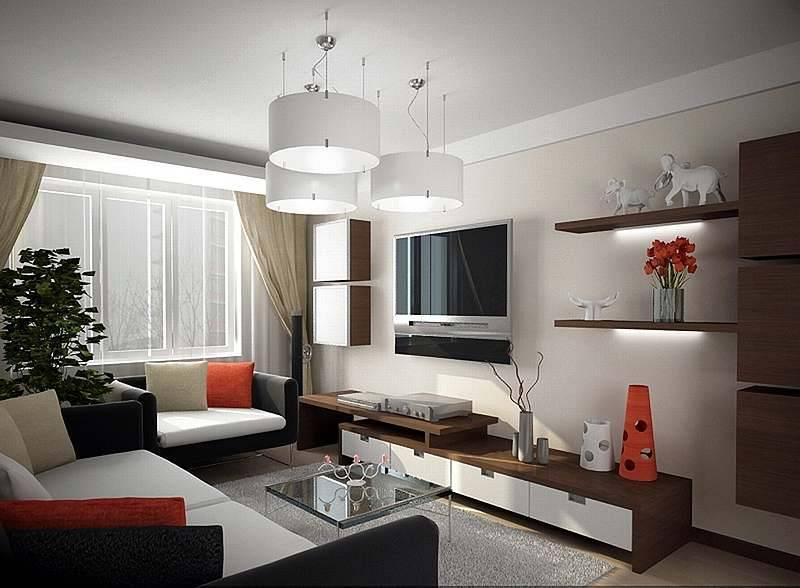 Создаем дизайн гостиной 17 кв. метров: рекомендации, 75 фото, видео