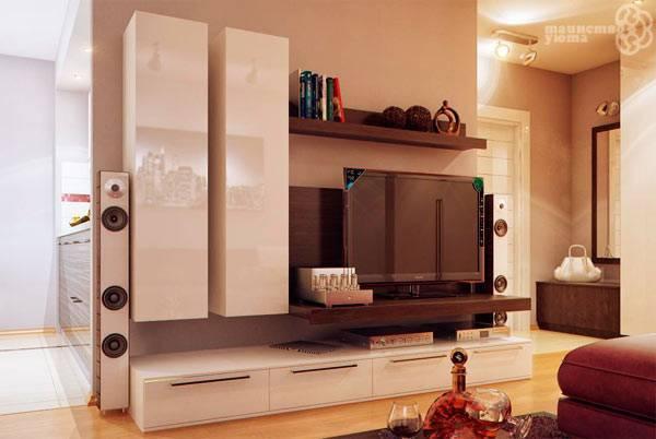 Современные стенки в гостиную (57 фото): красивые угловые модели в зал, мини-стенки в современном стиле, новинки 2021 и модные тенденции, примеры в интерьере