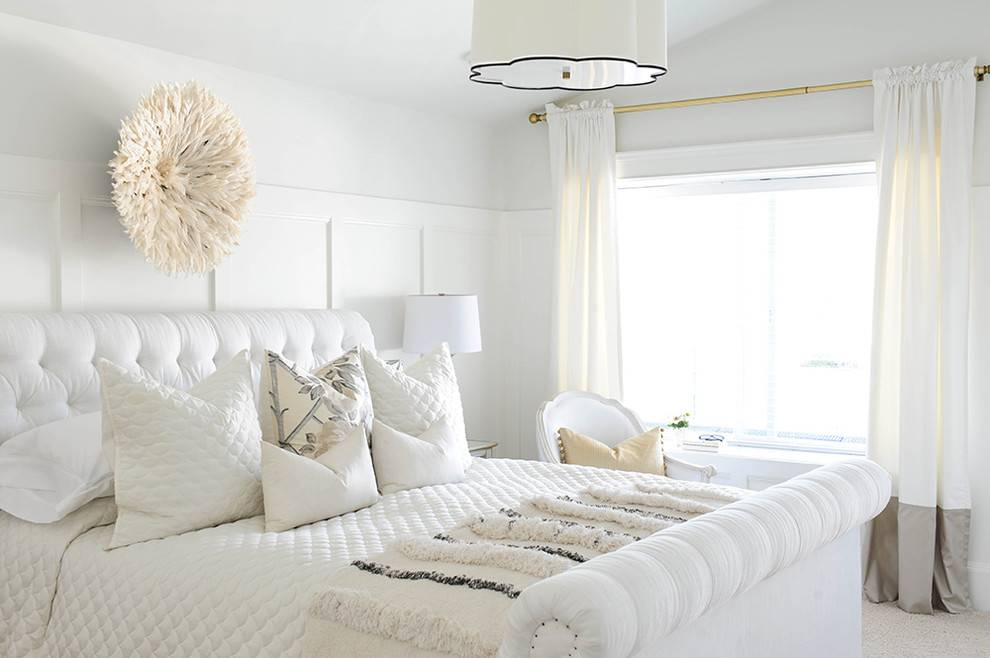 Дизайн спальни в светлых тонах, идеи интерьера, выбор мебели и прочее + фото
