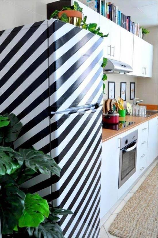Декор холодильника своими руками  - советы по дизайну с фото