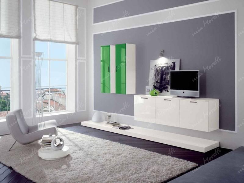 Корпусная мебель для гостиной (80 фото): стенка с угловым шкафом в современном стиле, набор «классика» из италии