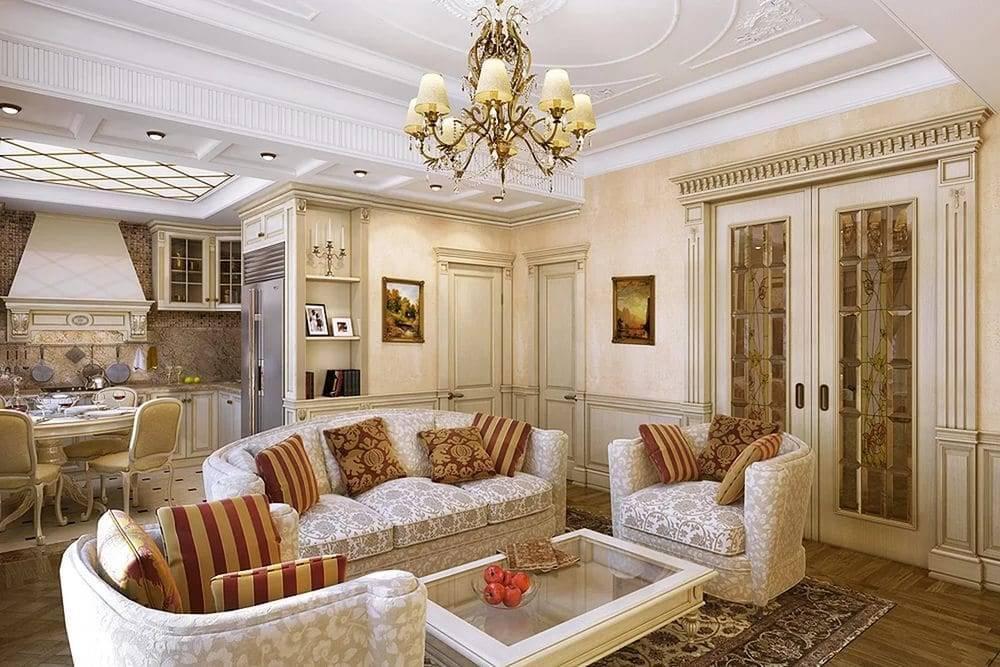 Интерьер квартиры в классическом стиле — 25 фото - «стили» » «дизайна интерьера»