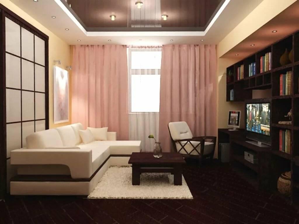 Дизайн прямоугольной гостиной (65 фото): идеи оформления интерьера зала прямоугольной формы. как обустроить большую комнату в квартире?