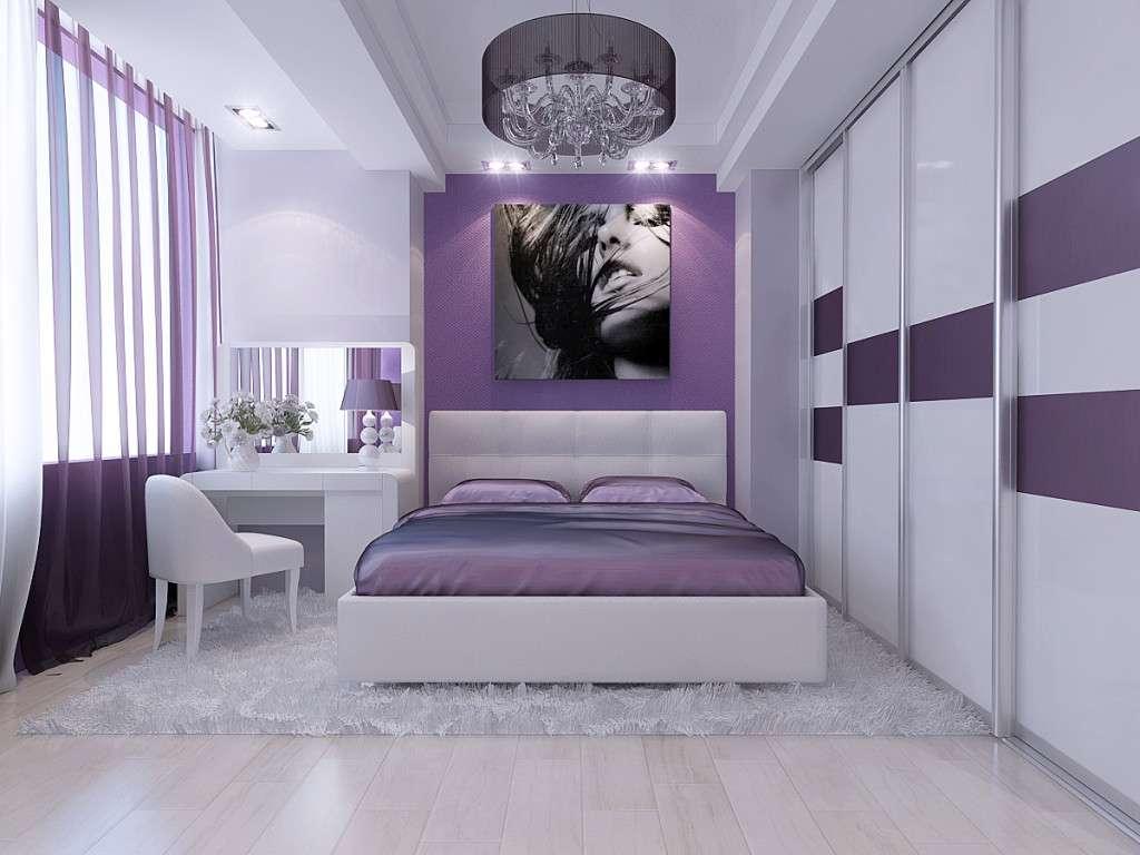 Спальня в сиреневых тонах: 20 фото идей дизайна сиреневой спальни