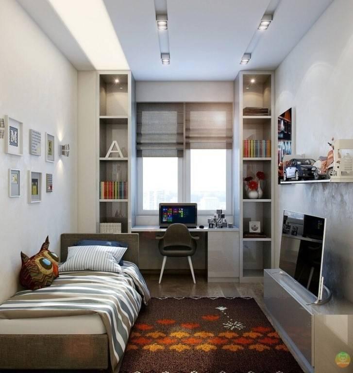 Как очень длинную и узкую комнату сделать более широкой и гармонизировать ее пространство в целом. vip-remont-kvartir.ru