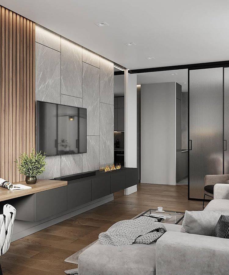 Современный дизайн маленькой кухни - 40 идей 2020 года