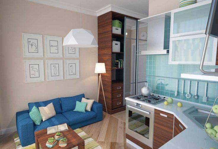 Дизайн квартиры-студии 20 квадратных метров (105 фото): кухня-гостиная, планировка комнаты