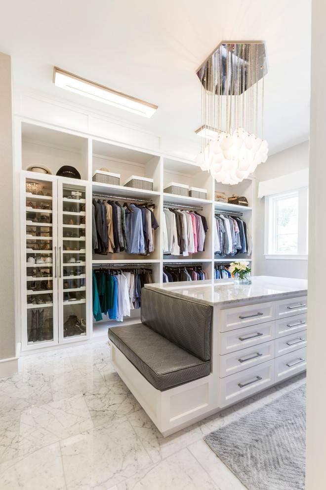 Маленькая гардеробная комната: дизайн-проекты, 35 фото и 4 идеи