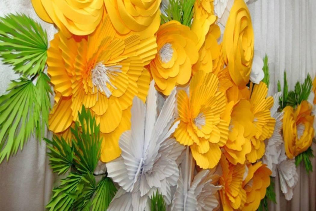 Цветы из бумаги своими руками - пошаговые мастер-классы по изготовлению, фото идеи, советы, схемы, шаблоны