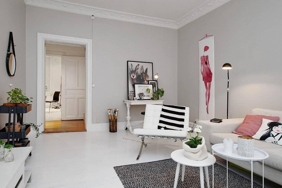 Беленый дуб в интерьере: цветовые решения, фото