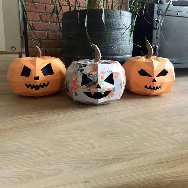 Поделки к хэллоуину своими руками для детей из разных материалов