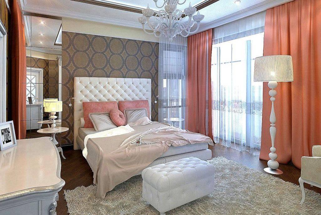 Спальня в стиле арт-деко (47 фото): дизайн интерьера и особенности стиля