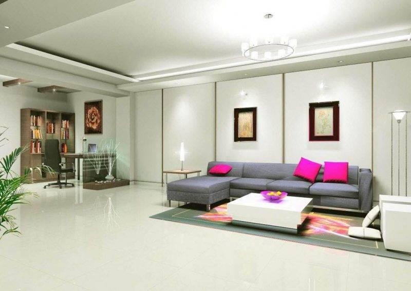 Потолки из гипсокартона в спальне: разновидности и дизайн