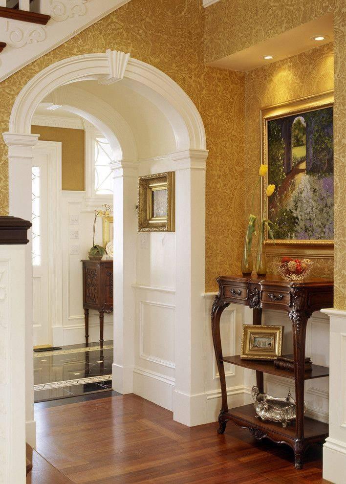 Межкомнатные деревянные арки: фото, виды, варианты дизайна, цветовая гамма