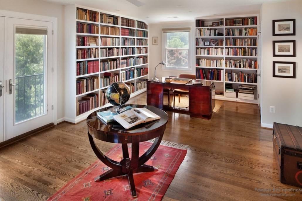 Книжный шкаф ибиблиотеки для дома— 50 фото винтерьере