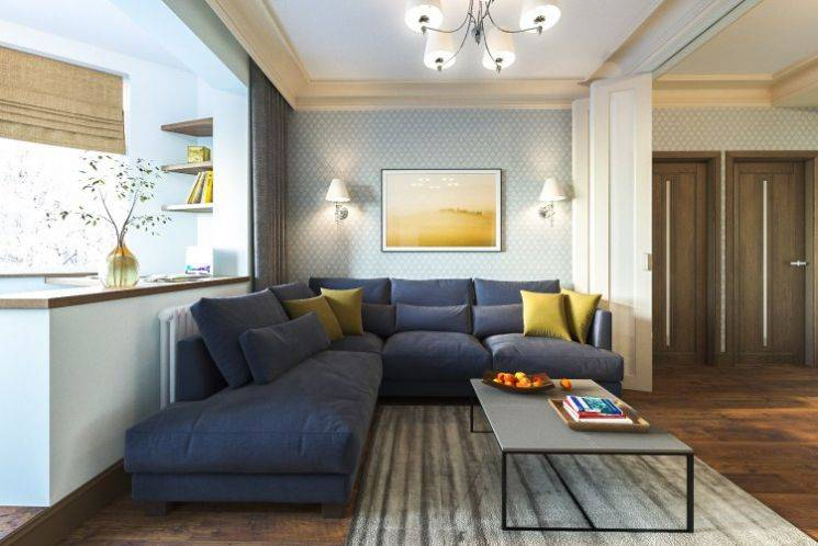 П-44т планировка с размерами 3-х комнатная квартира