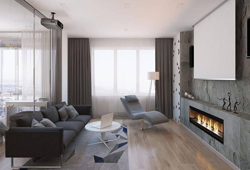 Интерьер однокомнатной квартиры (150 фото): идеи для студии площадью 18 кв. м, новинки 2021 и современные тенденции, актуальные стили и примеры их реализации