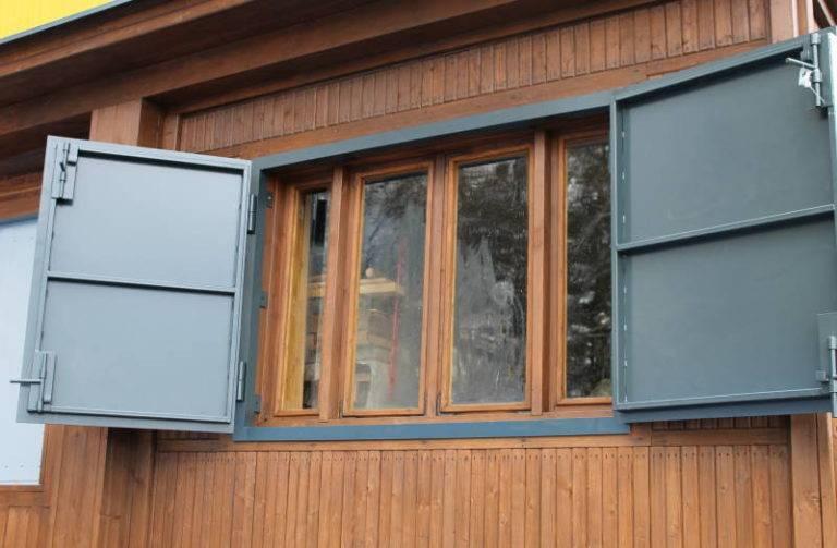 Ставни на окна для дачи: виды и изготовление своими руками - «декор» » «дизайна интерьера»