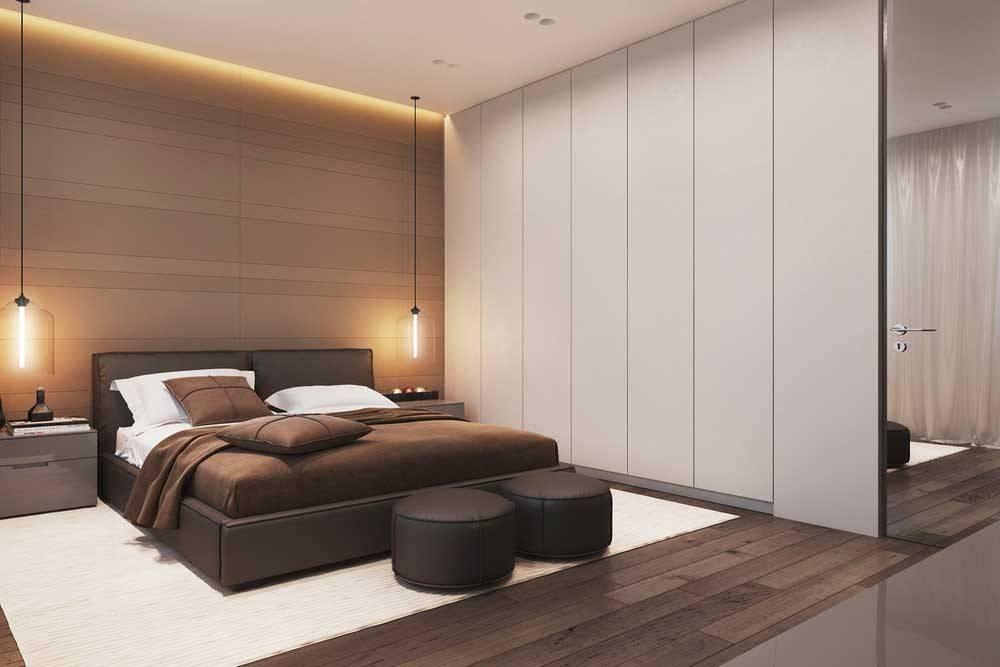 Дизайн спальни 13 кв. м (53 фото): интерьер прямоугольной комнаты