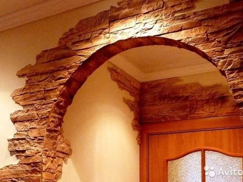 Отделка арки своими руками: материал, инструменты, а также этапы выполнения работ