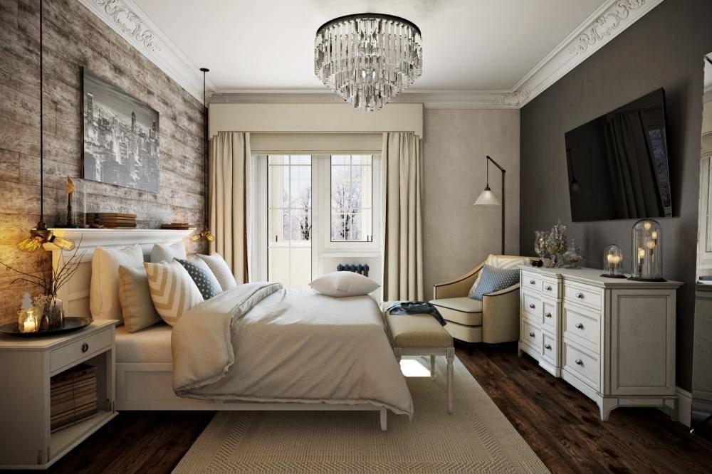 Варианты дизайна спальни 12 кв м — современные стили