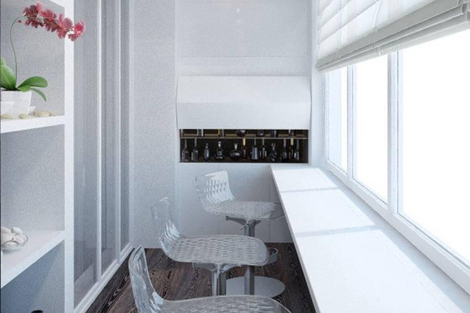 Подоконник столешница на кухне (20 реальных фото)