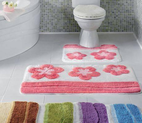 Коврики для ванной – проблемы выбора в мире «разношерстного» ассортимента