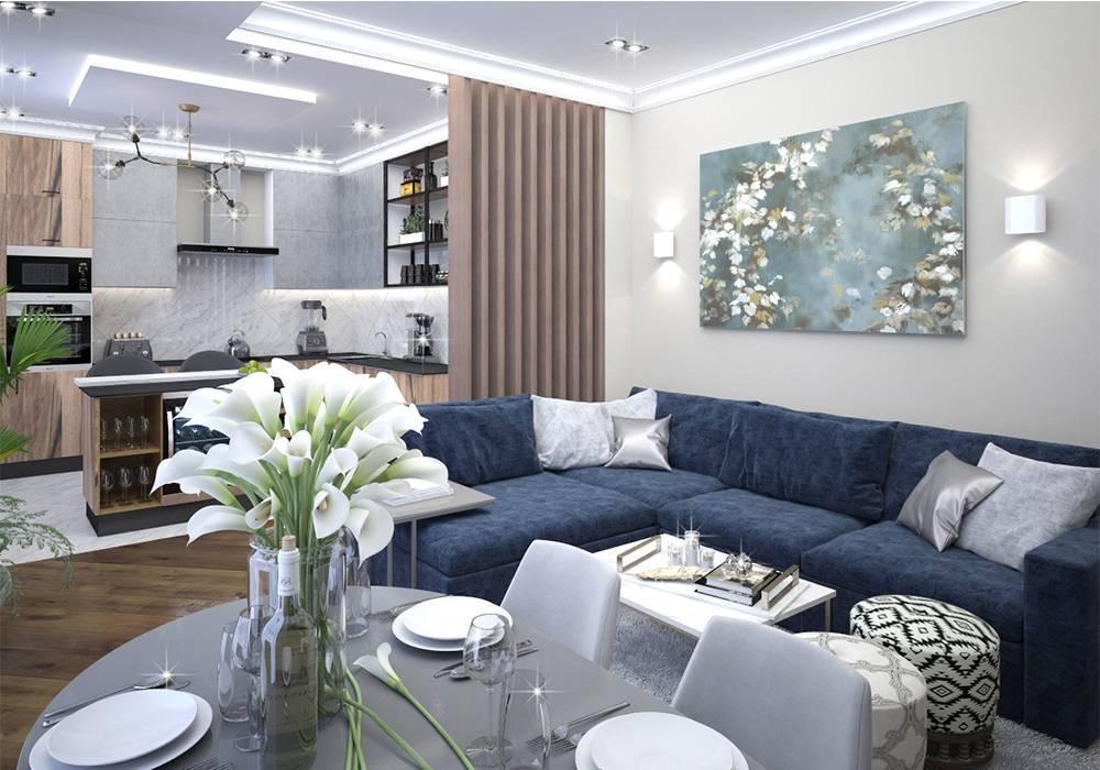 Дизайн зала 16 кв. м
