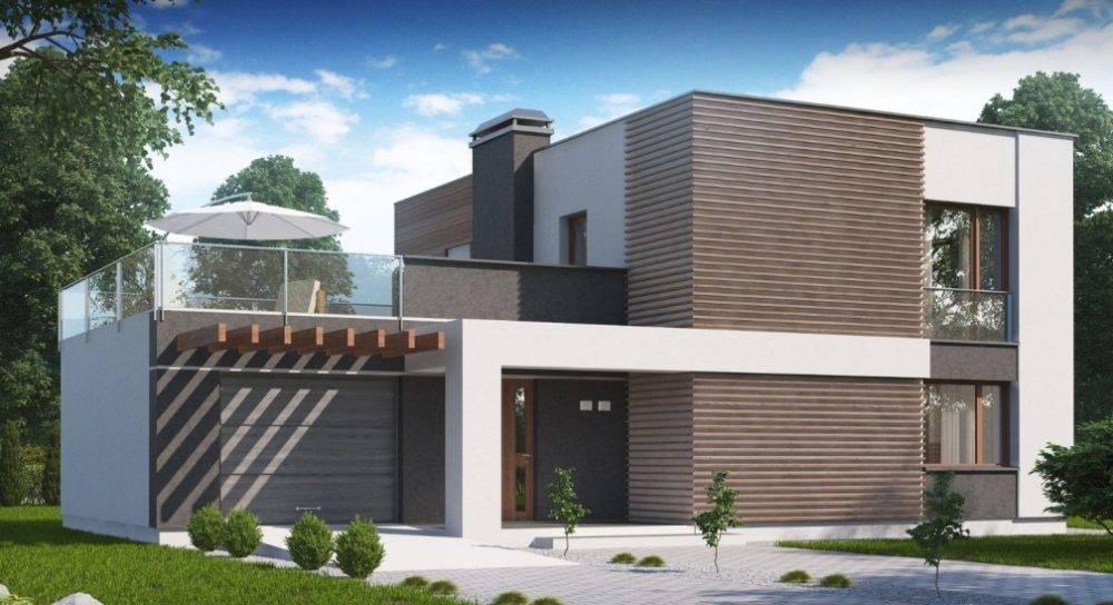 Проекты домов с плоской крышей: особенности современных частных одноэтажных коттеджей