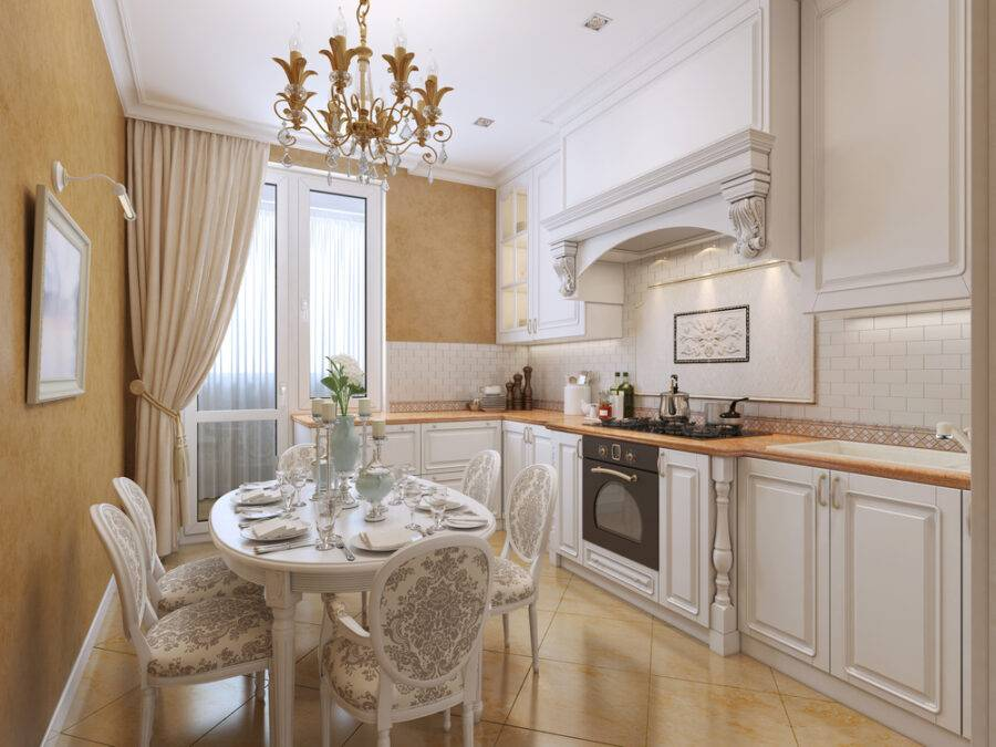 Кухня в стиле «современная классика»