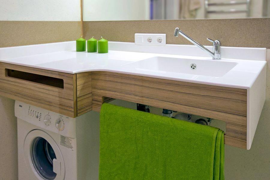 Выбираем столешницу под раковину для ванной комнаты
