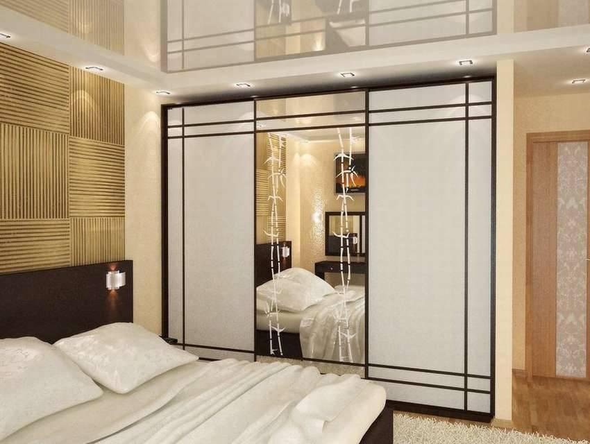 Шкафы-купе во всю стену в гостиную: какими бывают и как выбрать?