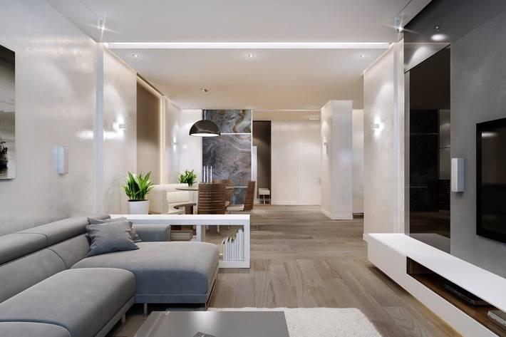Минимализм в квартире - 95 фото лучших вариантов дизайна