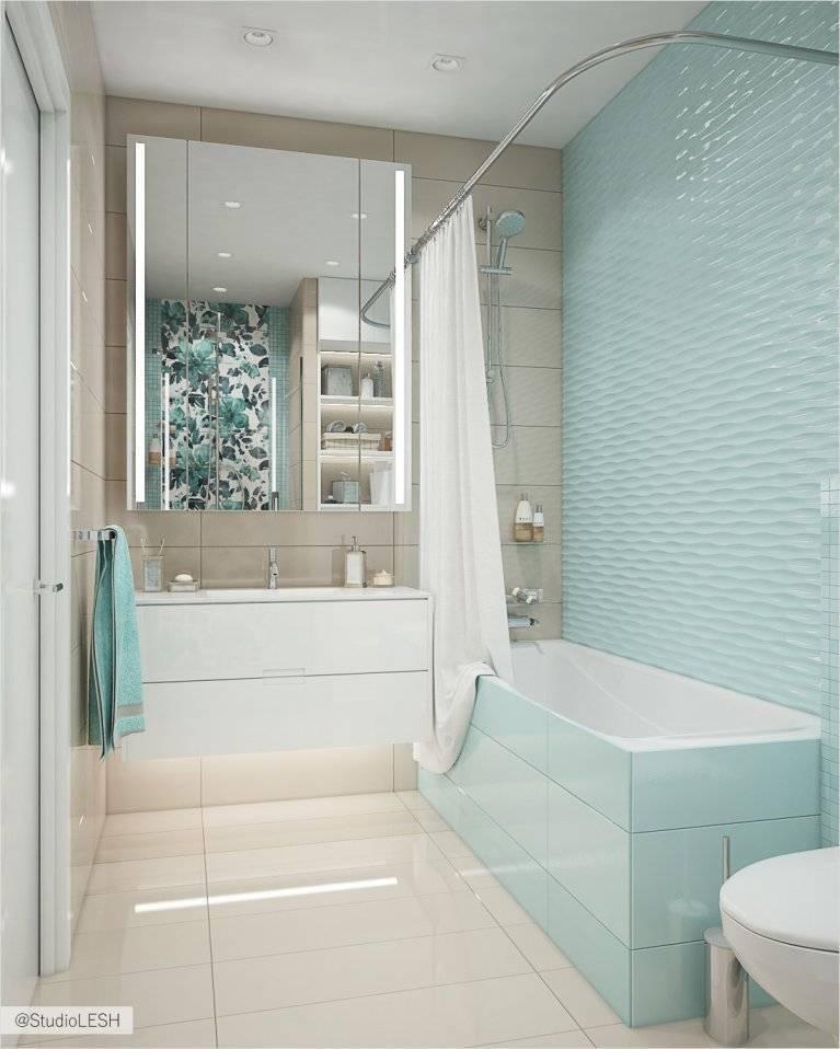 Бирюзовая ванная комната: оттенки, сочетание цветов, дизайн