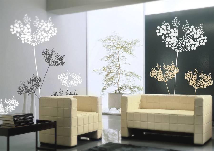 Дерево на стене +75 фото в интерьере