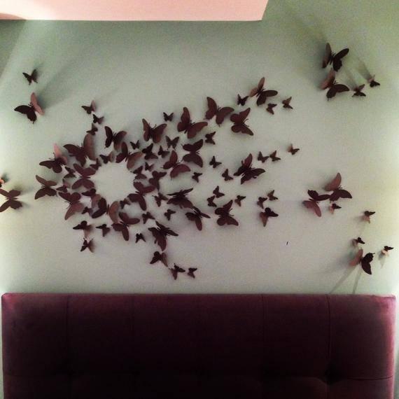 Оригинальный декор стен своими руками – 25 идей с фото