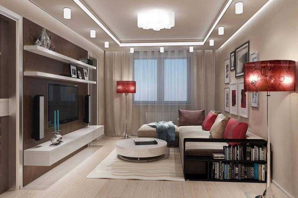 Кухня-гостиная 16 кв м с диваном: 28 фото реальных интерьеров