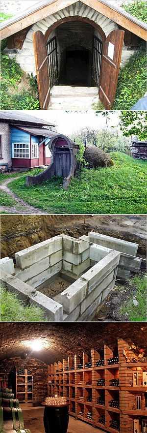 Инструкция для строительства погреба на дачном участке
