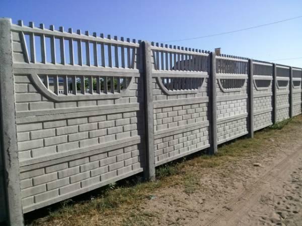 Заборные железобетонные (жби) плиты новые и б/у: размеры, вес и цена
