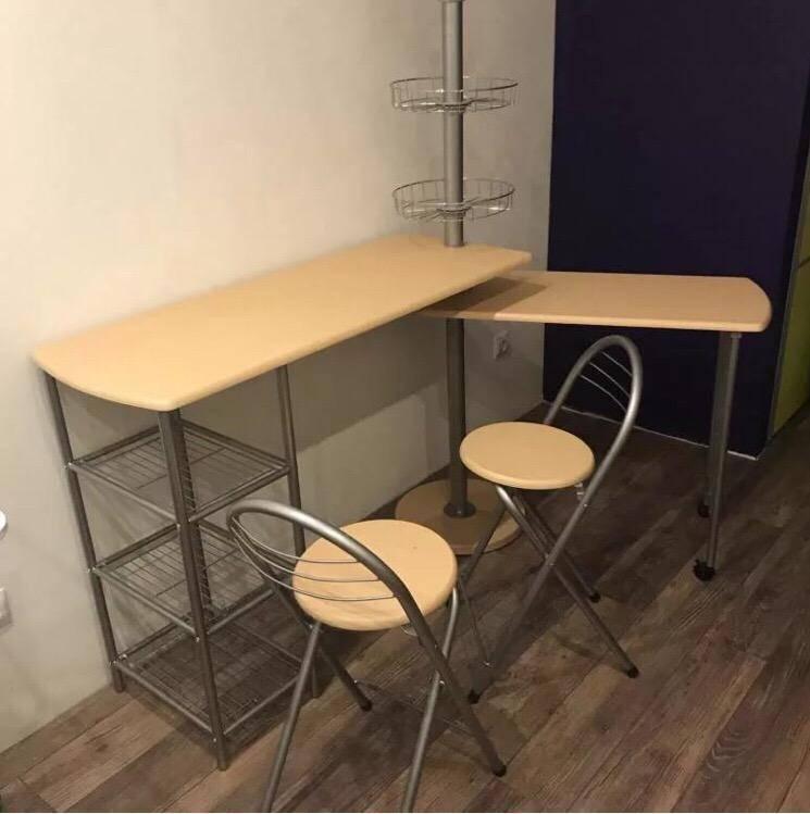 Маленькая кухня с барной стойкой — особенности интерьера, виды барных стоек